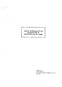 Zoning – Bylaw 2004 06